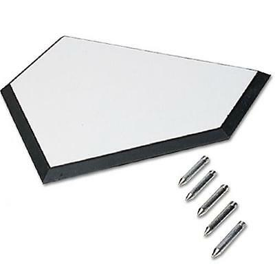Sport Supply Group BBHPXXXXY Rubber Home Plate