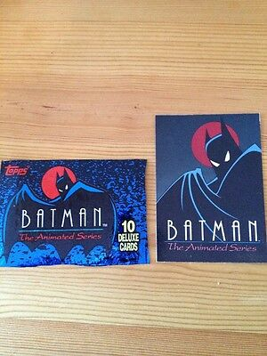 TOPPS Batman The Animated Series 100 Cards Full collection