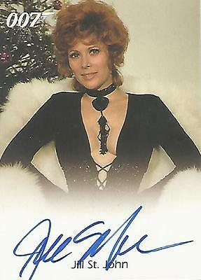"James Bond Heroes & Villains - Jill St John ""Tiffany Case"" Autograph Card"