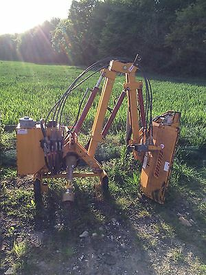 Flail hedge cutter