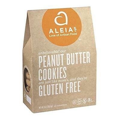 Aleias Cookies Peanut Butter 9 Ounce