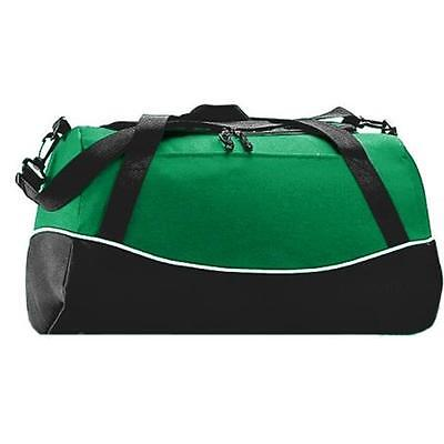 Augusta 1910A Tri-Color Sport Bag, Kelly All