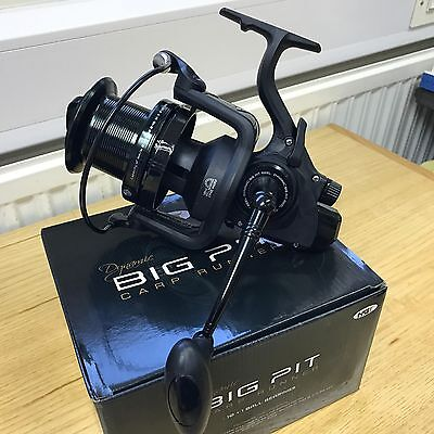 1 Dynamic 9000 NGT 10BB Big Pit Large Carp Fishing Reel FREE Runner Spare Spool
