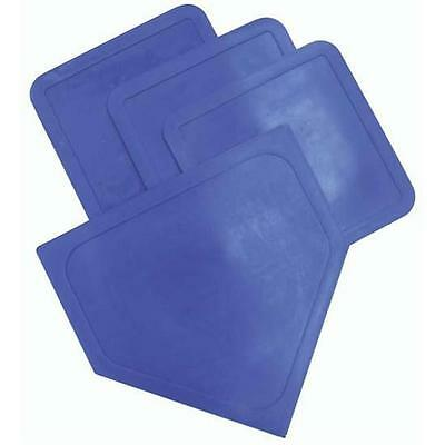 Olympia Sports BS018P Poly Baseball Bases Blue