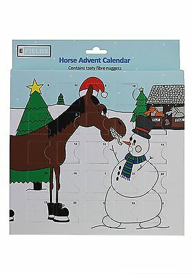 Horse Advent Calendar - Contains tasty fibre nuggets for your horse