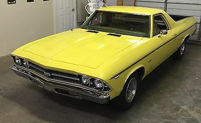 1969 Chevrolet El Camino  Documented Real Deal SS 396 4 Speed New Mexico Car Code Correct L-78 396 Hi Perf