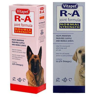 Vitapet R A Joint Formula for Cats & Dogs Double & Normal Strength 150ml - 1.2L