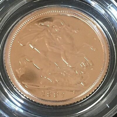 1997 gold proof half sovereign