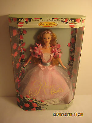"Barbie Collector's Edition ""A Garden of Flowers""; Rose - 1st in Series (1998)"