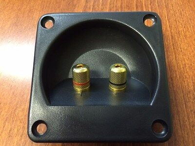 """Speaker Sub Subwoofer Box Twist Terminal Cup wire jack 3"""" or 76mm"""