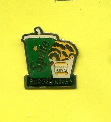 Pins  Sprite Burger King   Ab593