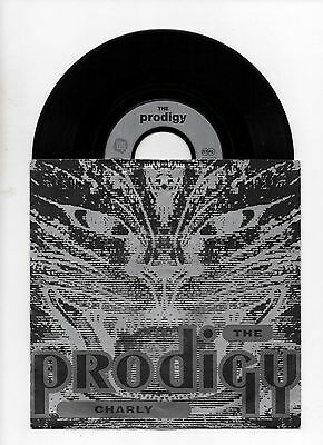 "THE PRODIGY - CHARLY 7"" 45 VINYL Rare German Original Picture Sleeve"