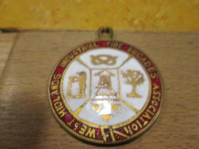 midland and district fire brigade medal disc unnamed