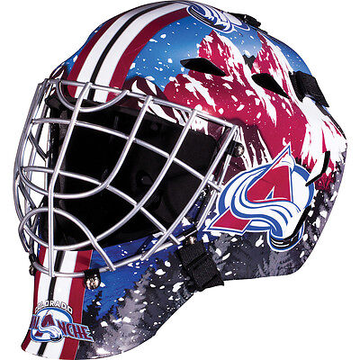 Franklin Sports GFM 1500 NHL Colorado Avalanche Goalie Face Mask
