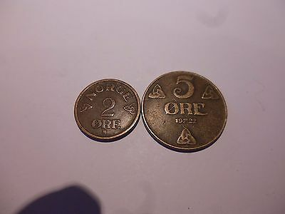 Norway coins as listed