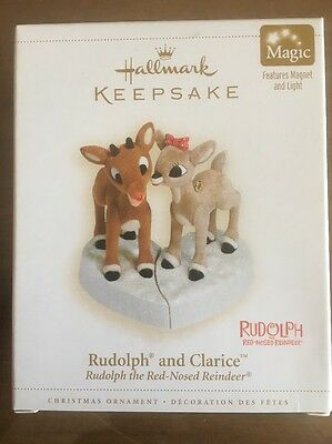 Hallmark Keepsake Christmas Ornament Rudolph The Red Nosed Reindeer And Clarice