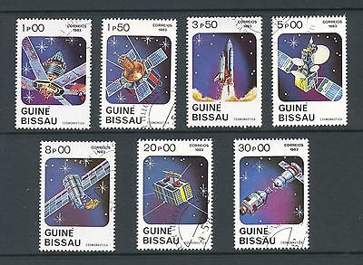 Guinea Bissau 1983 SG 743-9 Space Cosmonautics Day (CTO)