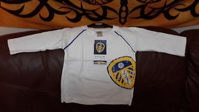 Leeds United long sleeve t shirt age 12 to 18 month