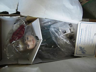 Little Caddy Doll Sculptor Linda Lee Sutton Premiere Collection Signed NIB