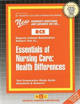 Essentials of Nursing Care: Health Differences (Excelsior/Regents College Examin