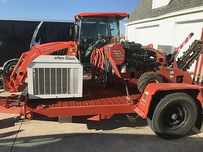 Ditch Witch Trencher Package