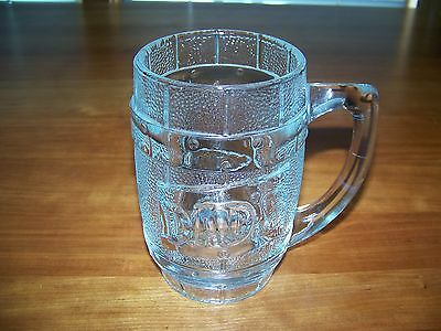 DAD'S Root Beer Glass Mug Barrel Style Heavy Vintage