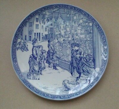 spode the spode blue room collection christmas plate number 4