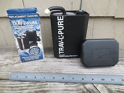 First Need TRAV-L-PURE Portable Drinking Water Purifier/ Extra Cartridge