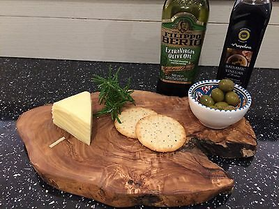 Personalised Rustic Olive Wood  tapas  Board Engraved Gift ,House warming,