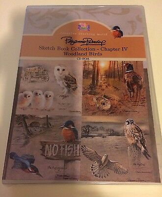 Pollyanna Pickering CD-ROM Sketch Book Collection Charpter IV - Woodland Birds