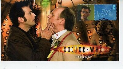 Official Dr Who Steven Scott Cover Time Crash 2009 Children In Need Cover