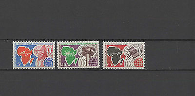 Space 1971 Chad set of 3 MNH