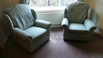 Pair of Parker Knoll Lounge Chairs