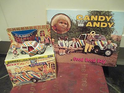 Vintage Rare Gerry Anderson Candy And Andy Magic Mini 1960S