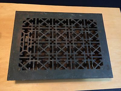Tuttle & Bailey Co. NY - 1800's Cast Iron Wall / Floor Grate / Register