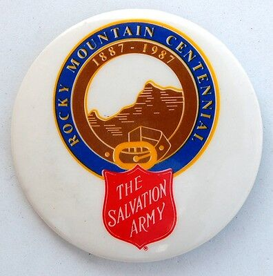 The Salvation Army 1987 Intermountain Division 100 Year Large Pin