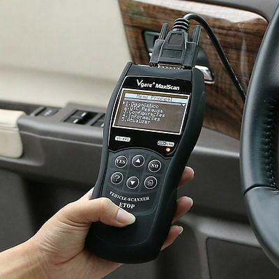 VGATE VS890 Read/Clear DTCs O2 Monitor Code Reader Auto Scanner Diagnostic Tool