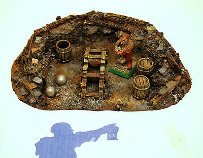 Warhammer Fantasy/ Sigmar Forge World Empire Mortar Emplacement OOP PRO PAINTED