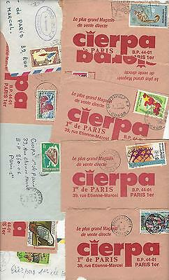 Africa on covers as shown