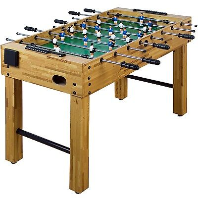 Table Football Glasgow Beech incl. Accessories Foosball Kicker