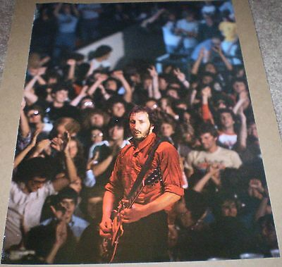 The Who Pete Townshend Live 1979 Concert Large Vintage Classic Photo  13 X 10
