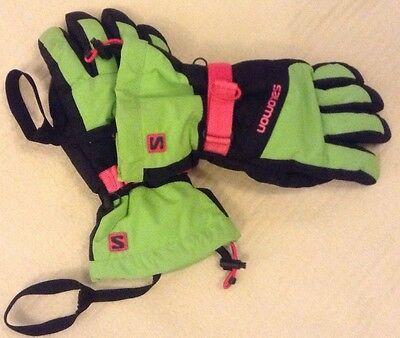 Ladies Salomon Ski Gloves (large)