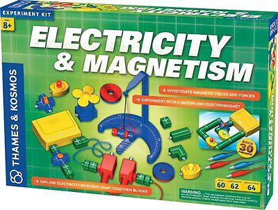 Thames & Kosmos ELECTRICITY and MAGNETISM KIT - 62 Science Experiments