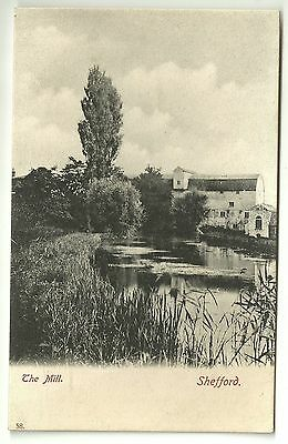 Bedfordshire postcard Shefford The Mill