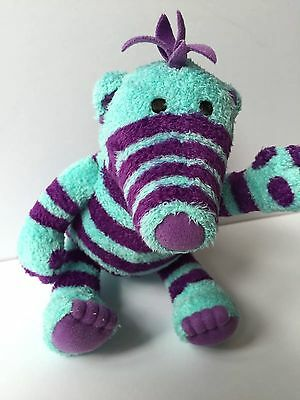 Fimbles, Florrie, purple and blue one -2004 - Roly Mo - Cbebbies Soft toy
