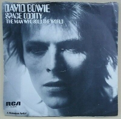 """David Bowie SPACE ODDITY vinyl 7"""" RCA US single picture sleeve  NEAR MINT"""