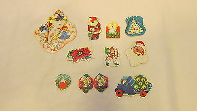11 Antique Vintage Seals For Christmas