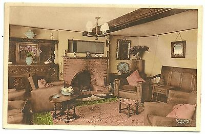 Isle of Wight postcard Yarmouth The Olde House Lounge by Tuck