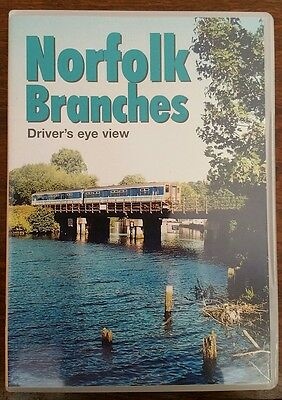 Video 125 - Norfolk Branches - Driver's Eye View / Cab Ride DVD