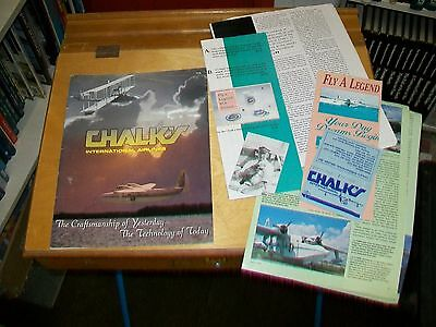 CHALK'S INTERNATIONAL AIRLINES BROCHURES,ARTICLES, ETC. c1994.GRUMMAN  ALBATROSS